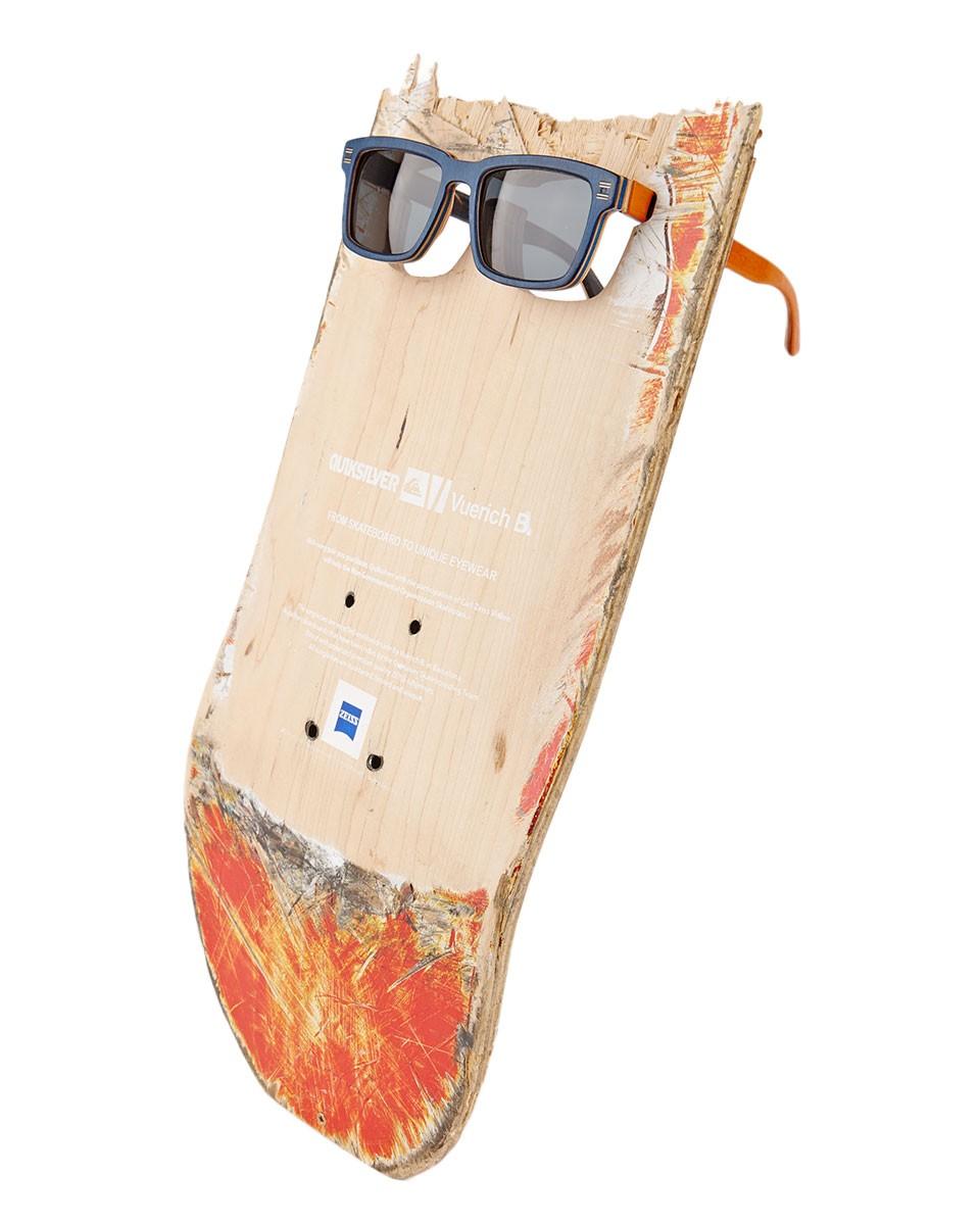 From skateboard to unique eyewear board bureau for Bureau quiksilver